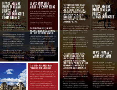 Paris In Collage Brochure Template, Inner Page, 05425, Careers/Industry — PoweredTemplate.com