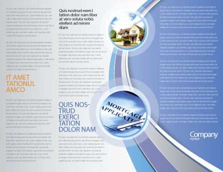 Crystal Home Brochure Template, Inner Page, 05505, Construction — PoweredTemplate.com
