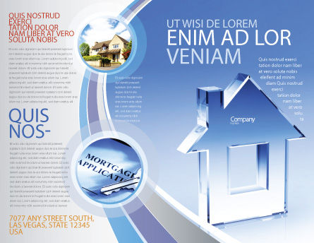 Crystal Home Brochure Template, Outer Page, 05505, Construction — PoweredTemplate.com