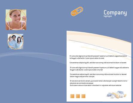 Prescription Brochure Template Outer Page