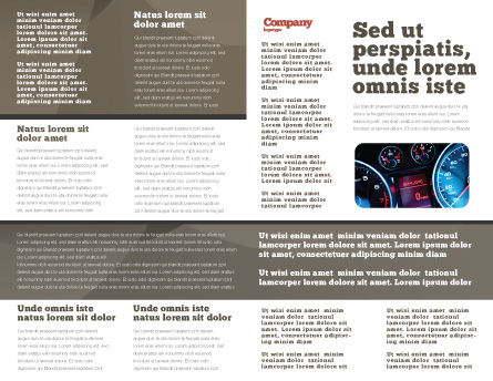 Car Brochure Template, Inner Page, 05566, Cars/Transportation — PoweredTemplate.com
