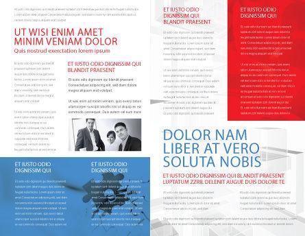 Entrepreneurs Brochure Template Inner Page