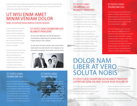 Entrepreneurs Brochure Template, Inner Page, 05575, Business Concepts — PoweredTemplate.com