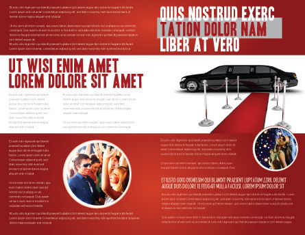 Limousine Brochure Template Inner Page
