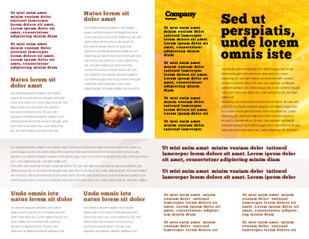 Transworld Logistics Brochure Template Inner Page