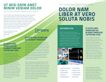 Anesthesia In Surgery Brochure Template Inner Page