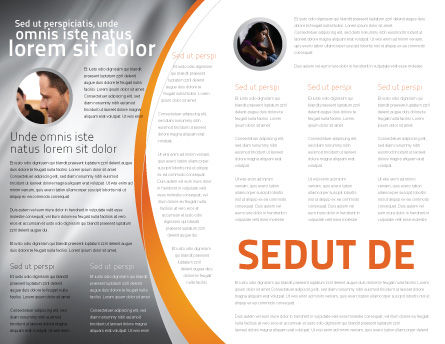 Psychology Model Brochure Template, Inner Page, 05863, Medical — PoweredTemplate.com