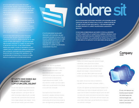 Data Safety Brochure Template Inner Page