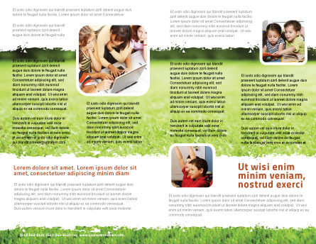 Reading On Summer Vacations Brochure Template Inner Page