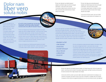 Seaport Brochure Template Inner Page
