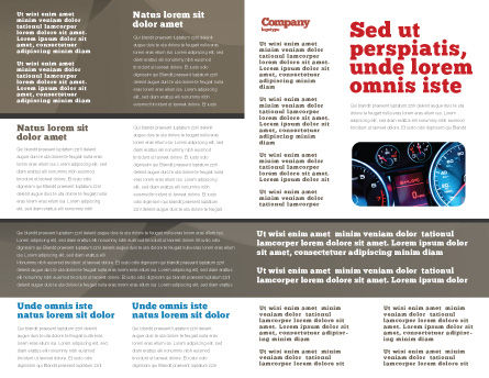 Open Road Brochure Template Inner Page