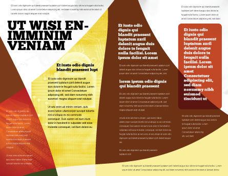 Secure Data Brochure Template, Inner Page, 06217, Careers/Industry — PoweredTemplate.com