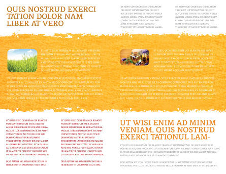 Herbal Medicine Brochure Template, Inner Page, 06227, Medical — PoweredTemplate.com