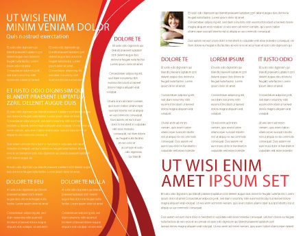 Higher Education Brochure Template Inner Page