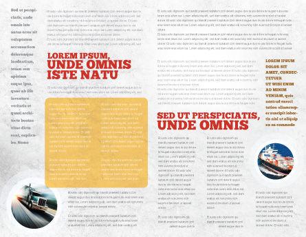 Packages Brochure Template, Inner Page, 06394, Careers/Industry — PoweredTemplate.com