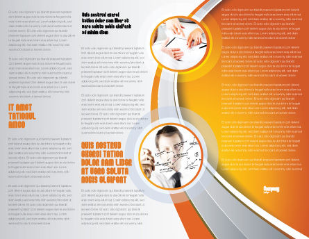 Top Management Brochure Template Inner Page