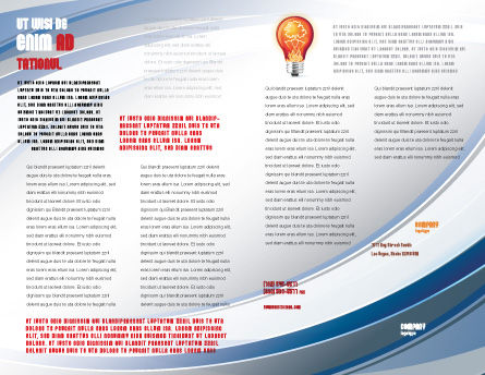Energy Resources Brochure Template, Inner Page, 06460, Nature & Environment — PoweredTemplate.com