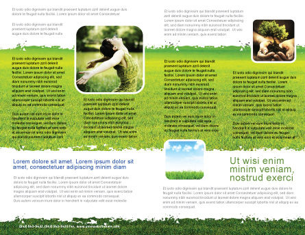 Bright Day Brochure Template, Inner Page, 06630, Nature & Environment — PoweredTemplate.com