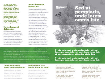 Energy Save Lamp Brochure Template, Inner Page, 06657, Nature & Environment — PoweredTemplate.com