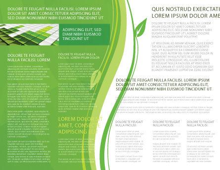 Green Habitat Brochure Template, Inner Page, 07037, Nature & Environment — PoweredTemplate.com