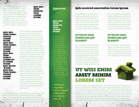 Green Solutions Brochure Template, Inner Page, 07063, Global — PoweredTemplate.com