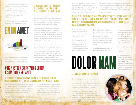 All People Writing Brochure Template Inner Page