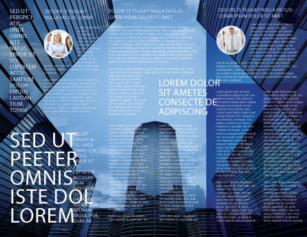 Business Center In Downtown Brochure Template Inner Page