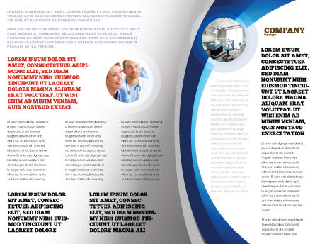 World Healing Brochure Template, Inner Page, 07228, Medical — PoweredTemplate.com