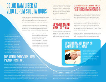 Credits and Loans Brochure Template Inner Page