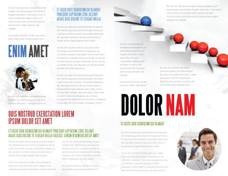 Higher And Higher Brochure Template, Inner Page, 07450, Education & Training — PoweredTemplate.com