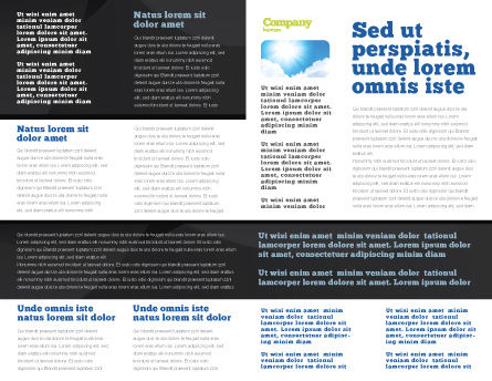 Solar Power Brochure Template, Inner Page, 07566, Technology, Science & Computers — PoweredTemplate.com