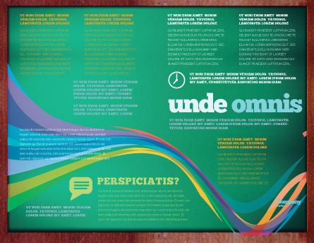 Giving Points Brochure Template, Inner Page, 07577, Education & Training — PoweredTemplate.com