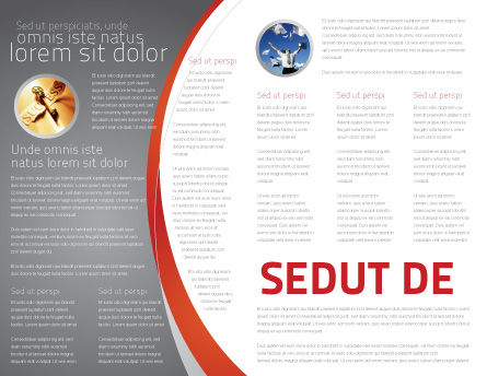 Jigsaw Ladder Brochure Template Inner Page