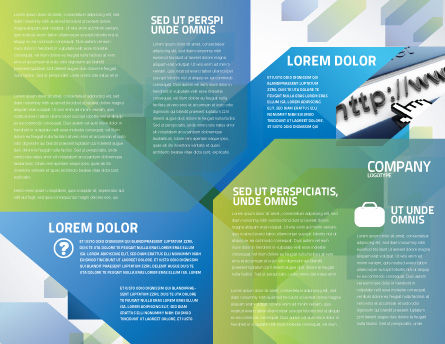 Keyboard Theme Brochure Template Inner Page