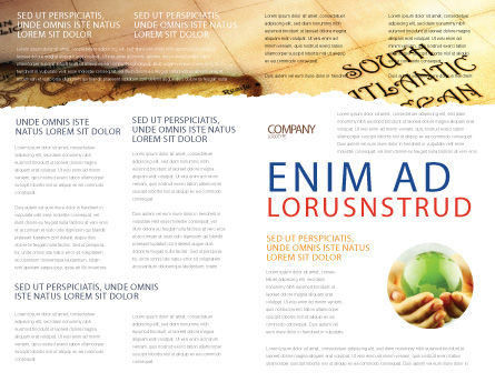 South Atlantics Brochure Template, Inner Page, 08151, Careers/Industry — PoweredTemplate.com