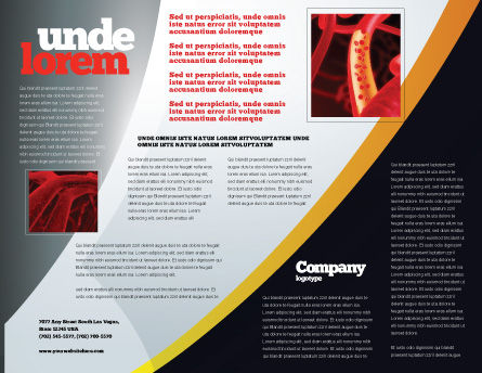Lung Cancer Brochure Template Inner Page