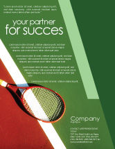 Sports: Tennis Rackets Flyer Template #00807