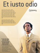 Business: Career Of Afro-Americans Flyer Template #01688