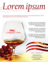 Food & Beverage: Brandy Flyer Template #01692