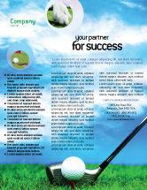 Sports: Golf Flyer Template #01768