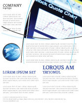 Financial/Accounting: Stock-Market Flyer Template #01931