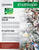 Nature & Environment: Recycle Industry Flyer Template #01961