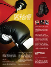 Sports: Boxing Training Flyer Template #01965