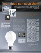 Business Concepts: Idea Flyer Template #01989