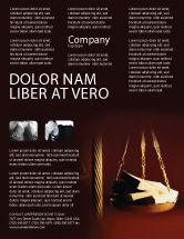 Legal: Corruption Flyer Template #02025