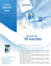Telecommunication: Broadcasting Flyer Template #02196