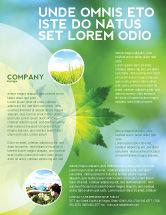 Nature & Environment: Flora Flyer Template #02215