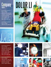 Medical: Reanimation Flyer Template #02288