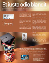 Education & Training: Academic Studies Flyer Template #02359