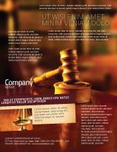 Legal: Juridical Flyer Template #02373